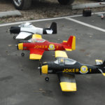 Squadron T28 Racers, Tim Cardin, Sam Wright, and Greg Tracy