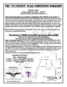 Un-Contest Flyer VVRCF March 2013