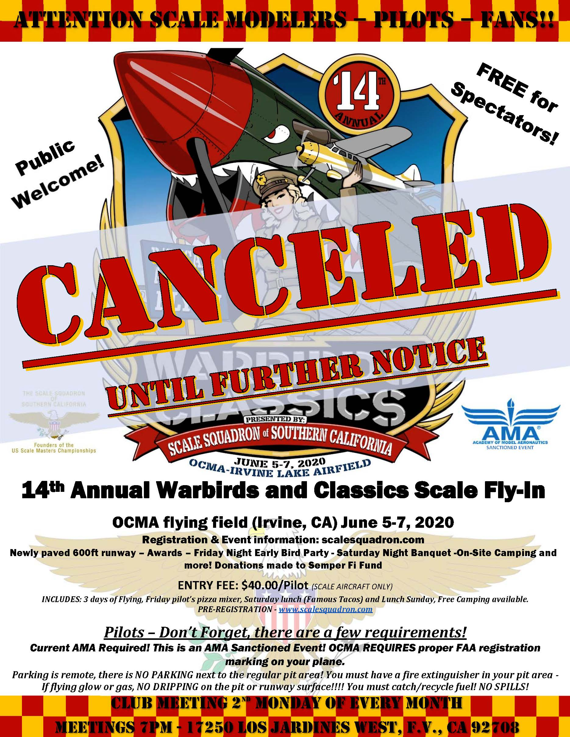 2020 warbirds cancelled